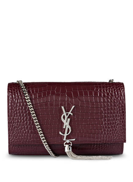 SAINT LAURENT Umhängetasche KATE MEDIUM, Farbe: ROUGE LEGION (Bild 1)
