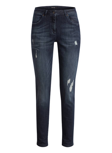MARC AUREL Boyfriend Jeans, Farbe: DARK BLUE DENIM  (Bild 1)