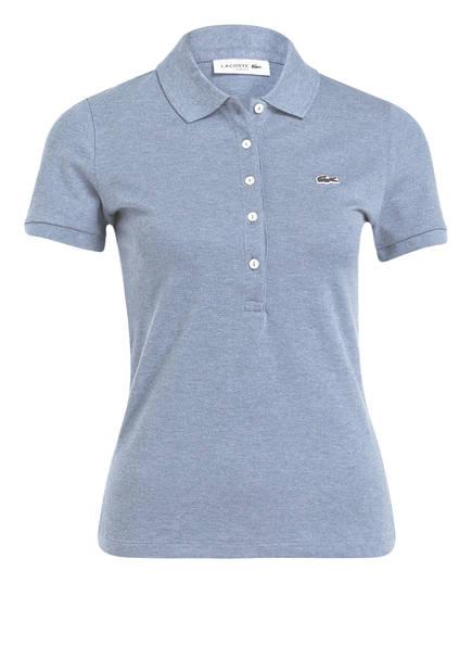 LACOSTE Piqué-Poloshirt, Farbe: BLAUGRAU (Bild 1)