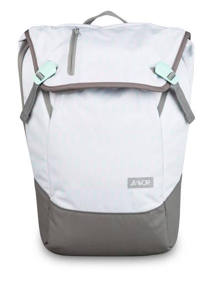 AEVOR Rucksack DAYPACK mit Laptopfach, Farbe: HELLGRAU/ GRAU/ MINT (Bild 1)