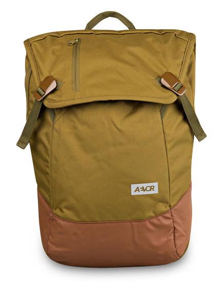 AEVOR Rucksack DAYPACK mit Laptopfach, Farbe: KHAKI/ BRAUN (Bild 1)