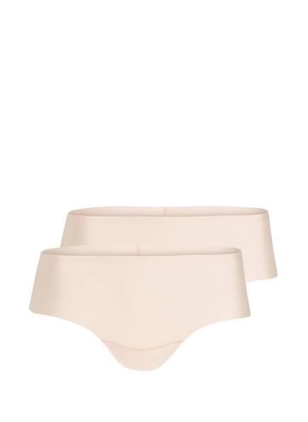 MAGIC BODYFASHION 2er-Pack Panties DREAM INVISIBLE, Farbe: BEIGE (Bild 1)