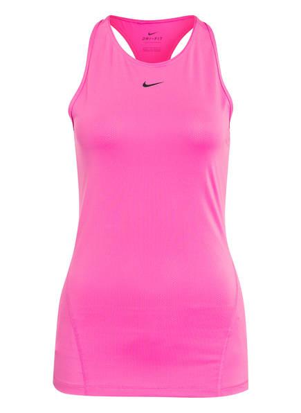 Nike Tanktop PRO DRI-FIT aus Mesh, Farbe: FUCHSIA (Bild 1)