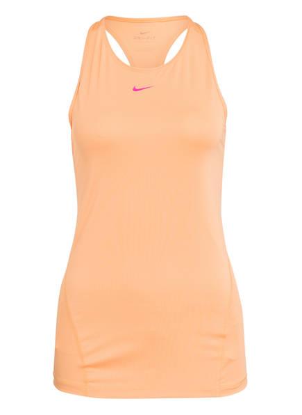 Nike Tanktop PRO DRI-FIT aus Mesh, Farbe: ORANGE (Bild 1)