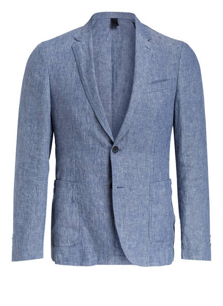 BOSS Kombi-Sakko HANRY Slim Fit aus Leinen, Farbe: 450 LIGHT/PASTEL BLUE (Bild 1)