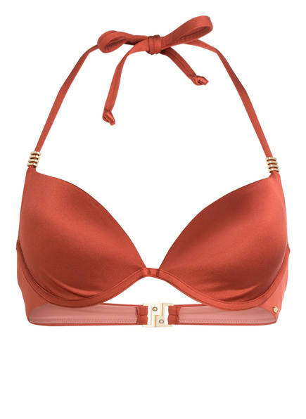 Skiny Sunset Glamour Bügel-Bikini-Top SHINY DESERT, Farbe: LACHS (Bild 1)