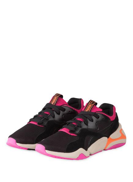 PUMA Sneaker NOVA URBAN, Farbe: SCHWARZ/ PINK (Bild 1)