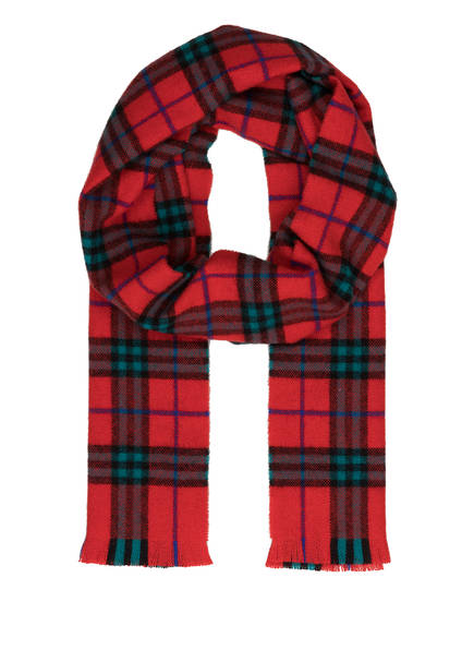 BURBERRY Cashmere-Schal, Farbe: VINTAGE CHECK/ BRIGHT RED (Bild 1)