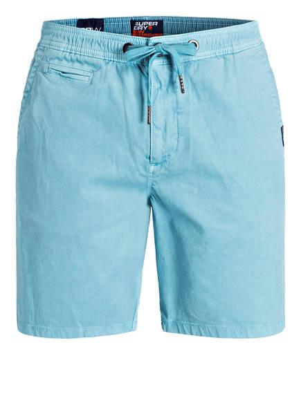 Superdry Chino-Shorts , Farbe: HELLBLAU (Bild 1)