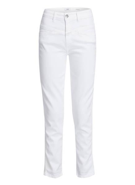 CLOSED Mom-Jeans PEDAL PUSHER, Farbe: WHITE (Bild 1)