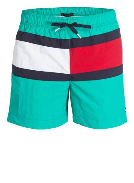 TOMMY HILFIGER Badeshorts, Farbe: TÜRKIS (Bild 1)