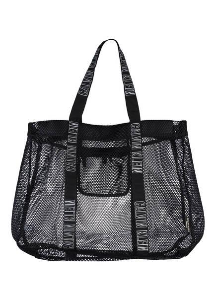 Calvin Klein Strandtasche, Farbe: SCHWARZ (Bild 1)