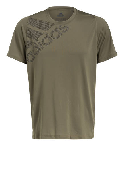 adidas T-Shirt BADGE OF SPORT, Farbe: OLIV (Bild 1)