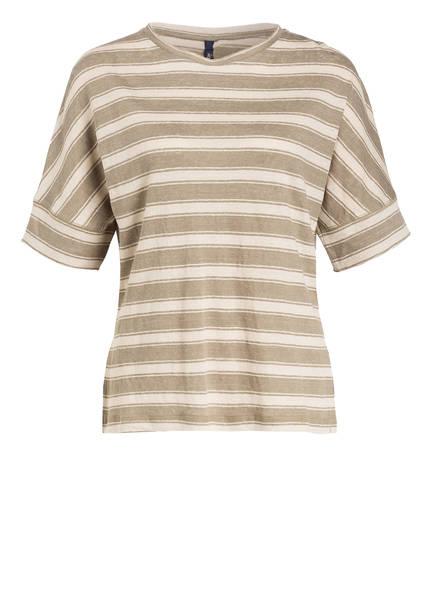 WOOLRICH Leinenshirt, Farbe: DUNKELGRÜN (Bild 1)