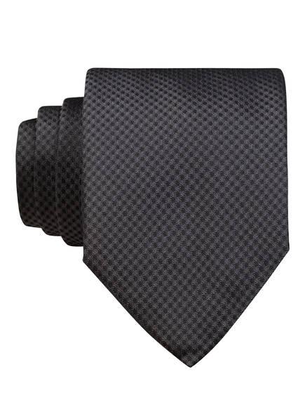 HUGO Krawatte, Farbe: GRAU/ SCHWARZ (Bild 1)