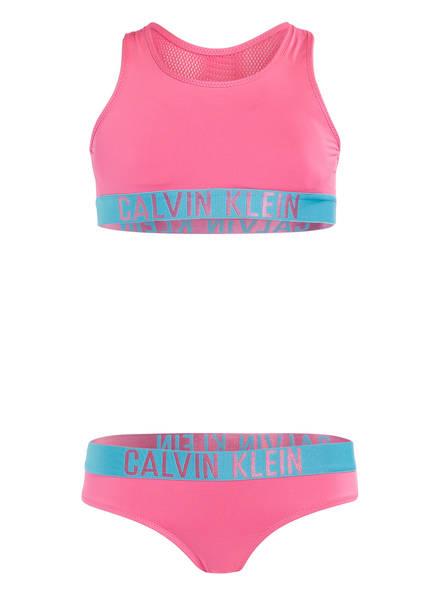 Calvin Klein Bustier-Bikini INTENSE POWER , Farbe: PINK (Bild 1)