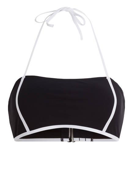 Calvin Klein Bandeau-Bikini-Top CORE NEO PLUS, Farbe: SCHWARZ (Bild 1)