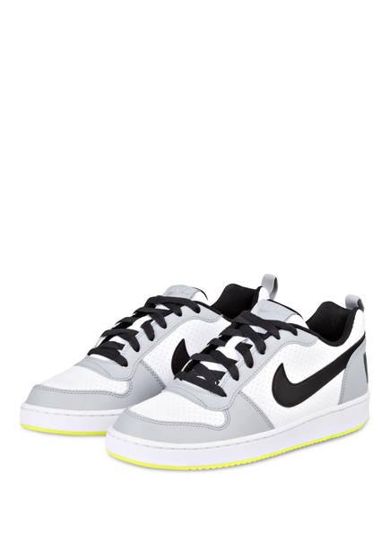 Nike Sneaker COURT BOROUGH, Farbe: WEISS/ GRAU/ GELB (Bild 1)