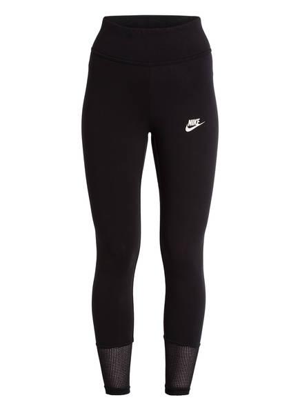 Nike Tights mit Mesh-Einsätzen, Farbe: SCHWARZ (Bild 1)