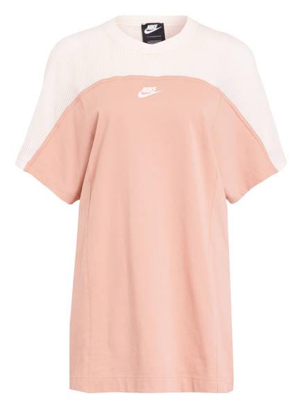 Nike Kleid mit Mesh-Einsätzen, Farbe: ALTROSA/ ECRU (Bild 1)