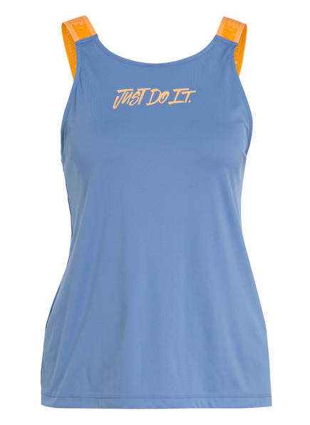 Nike Tanktop, Farbe: BLAU/ ORANGE (Bild 1)