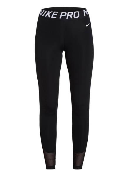 Nike 7/8-Tights MINI SWOOSH , Farbe: SCHWARZ (Bild 1)