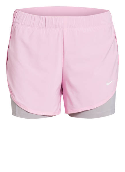 Nike 2-in-1 Shorts FLEX, Farbe: ROSA/ GRAU (Bild 1)