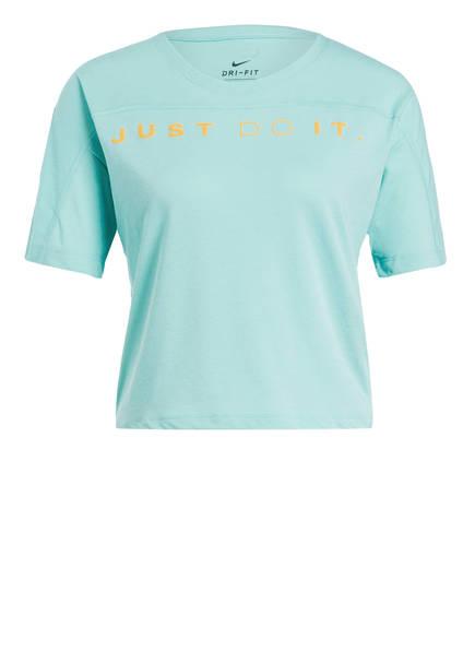 Nike Laufshirt DRI-FIT MILER, Farbe: MINT (Bild 1)