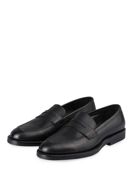 PRIME SHOES Loafer PS PALERMO, Farbe: SCHWARZ (Bild 1)