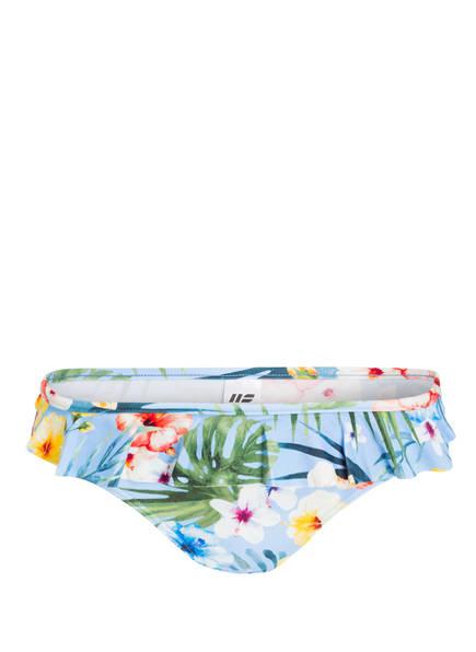 Hot Stuff Bikini-Hose , Farbe: HELLBLAU/ GELB (Bild 1)