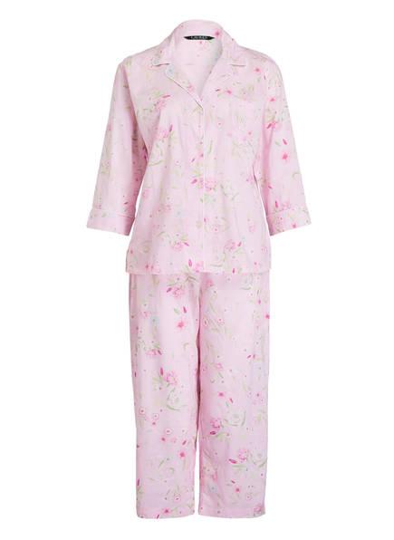 LAUREN RALPH LAUREN Schlafanzug, Farbe: ROSA GEMUSTERT (Bild 1)