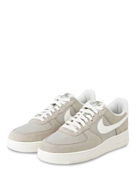Nike Sneaker AIR FORCE 1 '07, Farbe: GRAU/ WEISS (Bild 1)