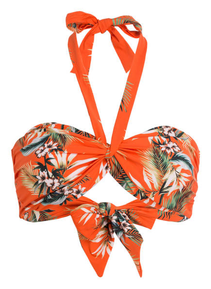 SEAFOLLY Bandeau-Bikini-Top OCEAN ALLEY , Farbe: ORANGE (Bild 1)