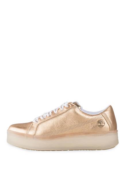 TIMBERLAND Sneaker | Timberland Plateau-Sneaker Marblesea gold