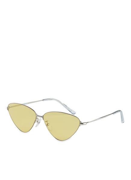 BALENCIAGA Sonnebrille BB0015S, Farbe: 007 - SILBER/ GELB (Bild 1)