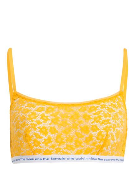 Calvin Klein Bustier CONVERSATIONAL, Farbe: GELB (Bild 1)