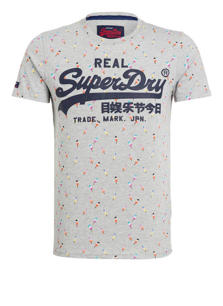 Superdry T-Shirt, Farbe: GRAU GEMUSTERT (Bild 1)