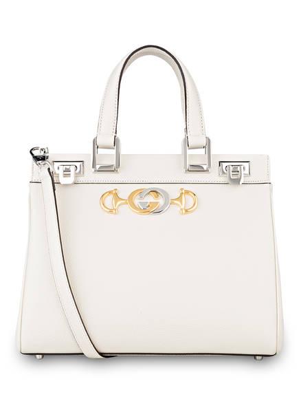GUCCI Handtasche ZUMI SMALL, Farbe: MYSTIC WHITE (Bild 1)