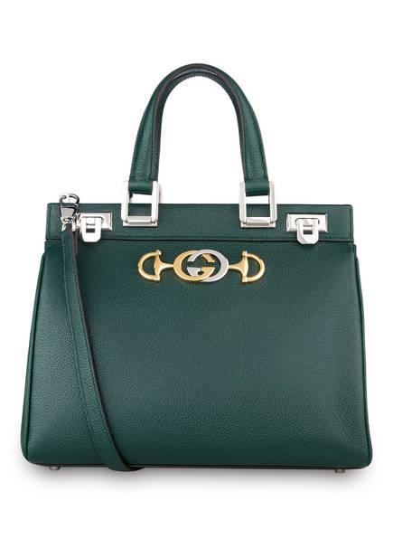 GUCCI Handtasche ZUMI SMALL, Farbe: VINTAGE GREEN (Bild 1)