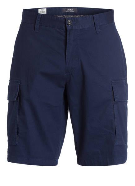 S.Oliver Cargo-Shorts grau