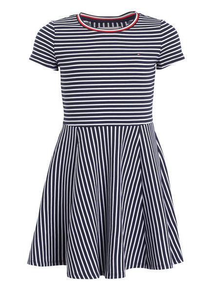 TOMMY HILFIGER Kleid, Farbe: DUNKELBLAU/ WEISS GESTREIFT (Bild 1)