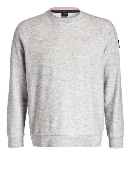 BOSS Sweatshirt WALDO, Farbe: GRAU MELIERT (Bild 1)