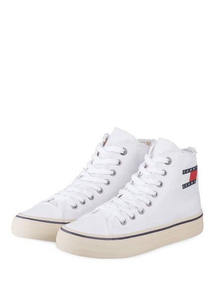 TOMMY JEANS Hightop-Sneaker , Farbe: WEISS (Bild 1)