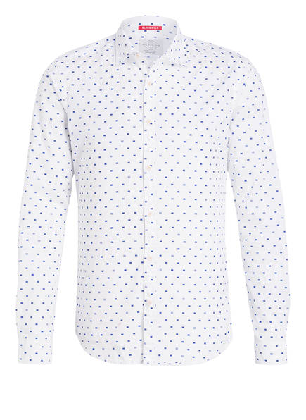 SCOTCH & SODA Hemd Extra Slim Fit, Farbe: WEISS/ DUNKELBLAU (Bild 1)