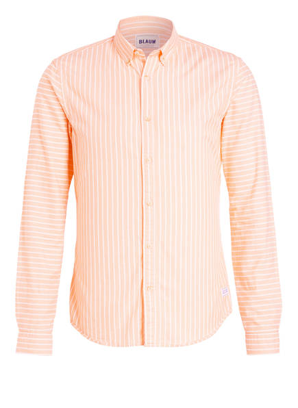 SCOTCH & SODA Hemd Slim Fit , Farbe: LACHS/ WEISS GESTREIFT  (Bild 1)