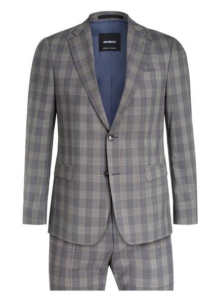 strellson Anzug CERF-MANDOR Slim Fit, Farbe: GRAU/ WEISS KARIERT (Bild 1)