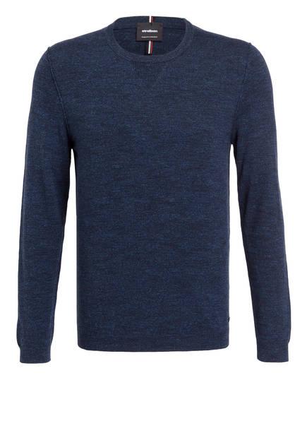strellson Pullover CARTER, Farbe: DUNKELBLAU MELIERT (Bild 1)