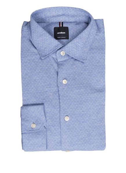 strellson Jerseyhemd CARSON Regular Fit, Farbe: BLAU GEMUSTERT (Bild 1)