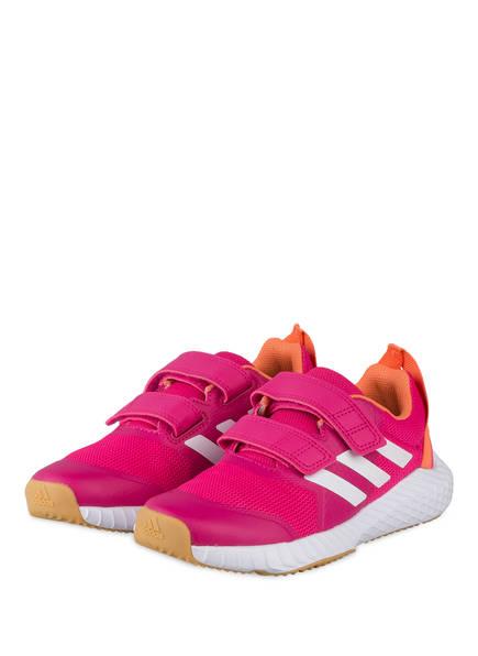 adidas Fitnessschuhe FORTAGYM, Farbe: FUCHSIA/ ORANGE (Bild 1)
