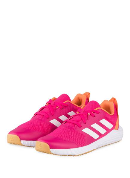 adidas Fitnessschuhe FORTAGYM, Farbe: PINK/ ORANGE/ WEISS (Bild 1)